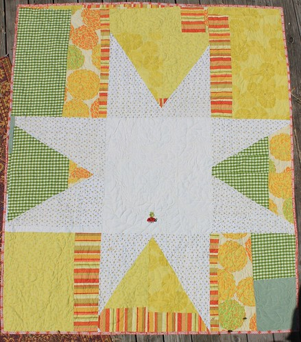 Yellow Giant Star Backing