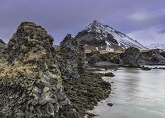 'Arnarstapi, and Mt Stapafell' - Snaefellsnes, Iceland