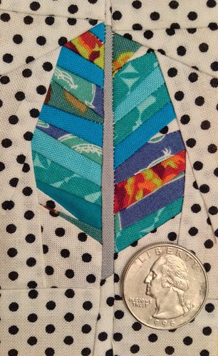 Paper Pieced Feather