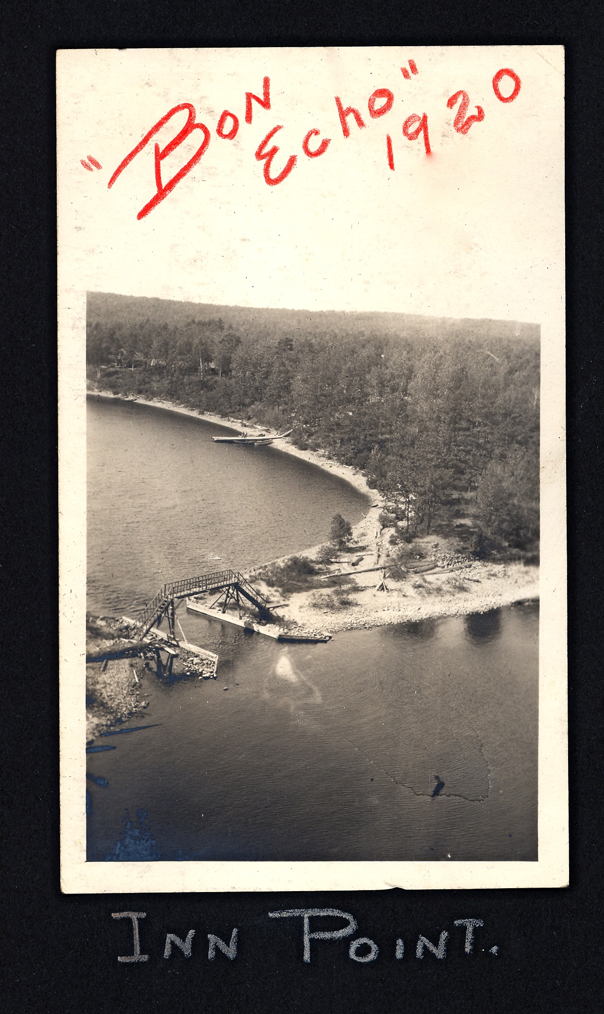Bon Echo Inn Point and Bridge -1920