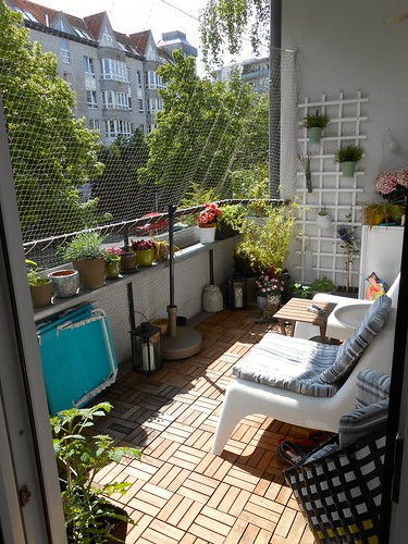 Berlin Flat: Balcony 2014