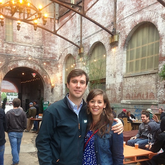 Date night at the old Tennessee Brewery.