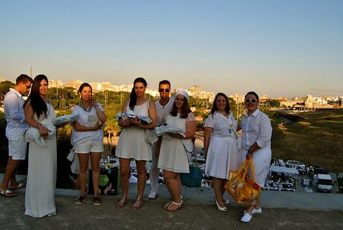 Cena en Blanco 2014.