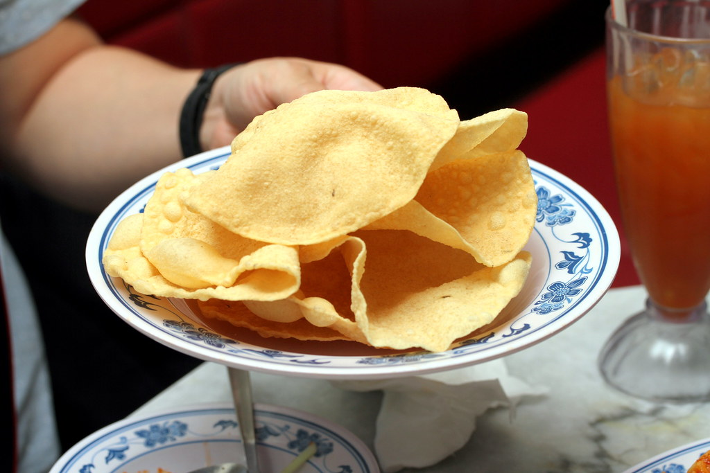 JEM Food Trail: Rumah Sayang's Papadum