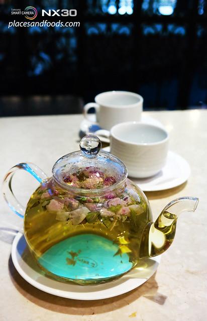 lord stow venetian resort hotel flower tea