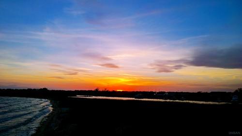ocean light sunset red sky orange inspiration ny newyork beach nature water silhouette yellow night clouds photoshop outdoors fire suffolk marine seasons dusk tranquility longisland atlanticocean imran fireisland patchogue windowsphone greatsouthbay redplanet imrananwar lumia1020