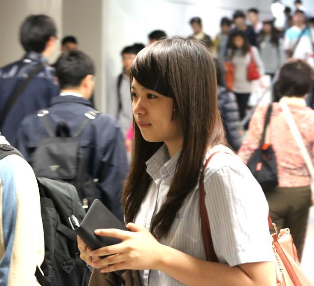cute girl with dimple大眼睛酒窩可愛女孩III