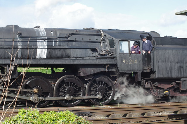 92214, BR Standard 9 at Quorn & Woodhouse, 10th May 2014