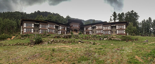 Devachen Resort in Gangtey