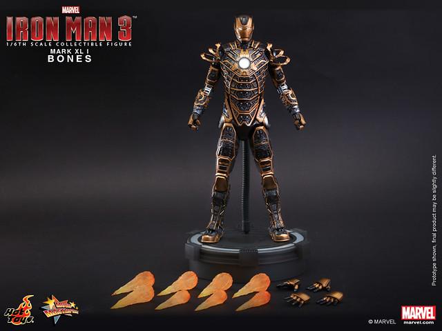 Hot Toys - Iron Man 3 - Bones (Mark XLI) Collectible Figure_PR15