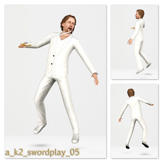 SwordPlay - Pose 05