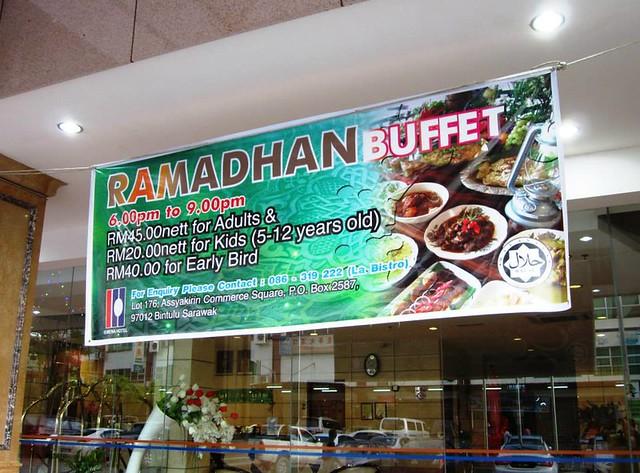 Kemena Hotel Ramadhan buffet