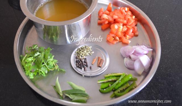 Tomato Soup (Chettinad)