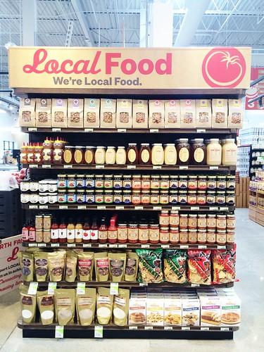 Earth Fare Greenwood local foods