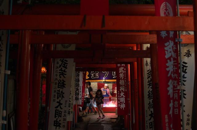 東京路地裏散歩 雑司ヶ谷鬼子母神の夏市 2014年7月7日