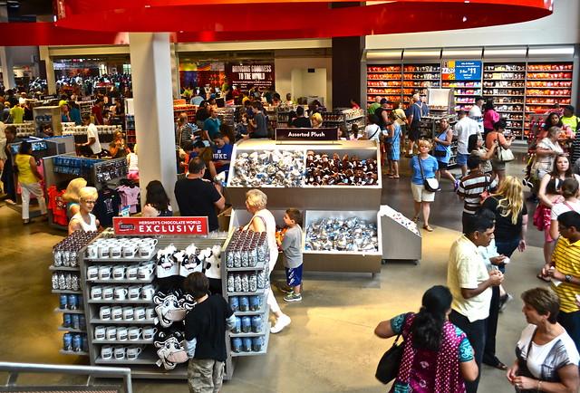 Hershey Store - Chocolate World Hershey PA USA
