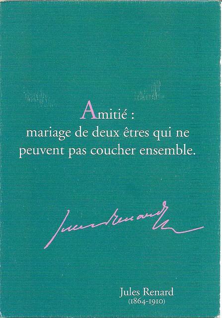 Aphorism by Jules Renard
