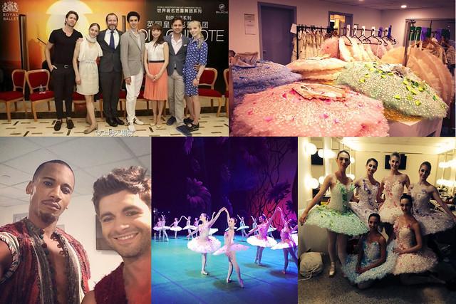 Dancers' photos from the 2014 Royal Ballet Tour © (From top left) Alexander Campbell, Hayley Forskitt, Eric Underwood, Nathalie Harrison, Hayley Forskitt 2014
