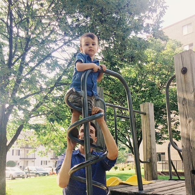 He's getting so tall! #instaluther #toddler #children #fatherhood
