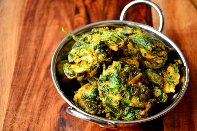 Spinach Pakoras Recipes