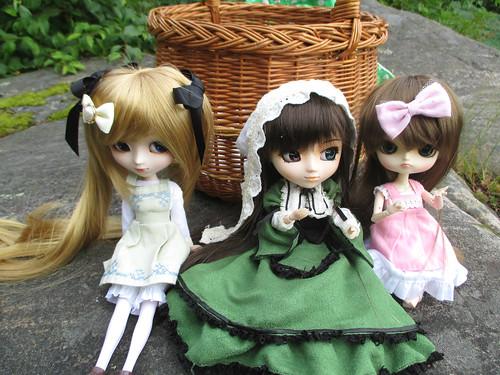 Shinku, Suiseiseki & Himeko