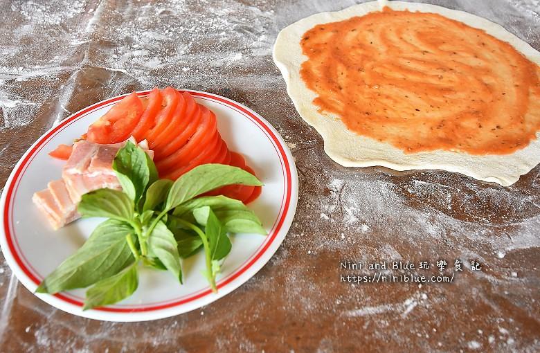 宜蘭安平冰店窯烤披薩DIY18