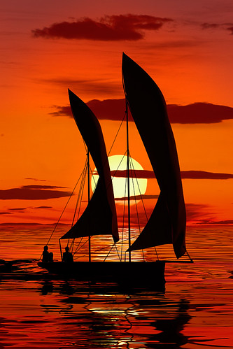 ocean africa sunset sea sun fish seascape silhouette stone sailboat canon landscape tanzania evening coast boat town twilight fishing fisherman marine day harbour dusk indian traditional telephoto arab tropical sail catch zanzibar arabian dhow 500l colorphotoaward 5d2 5dmkii