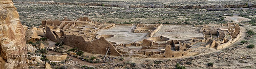Pueblo Bonito from Chaco