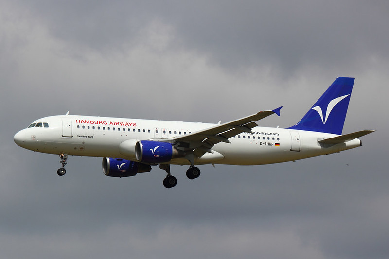 Hamburg Airways - A320 - D-AHHF (2)