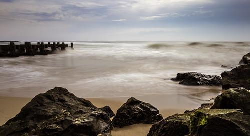 ocean motion color beach water newjersey sand rocks unitedstates asburypark nj shore oceangrove ndfilter neptunetownship