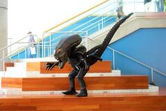 queen alien cosplay