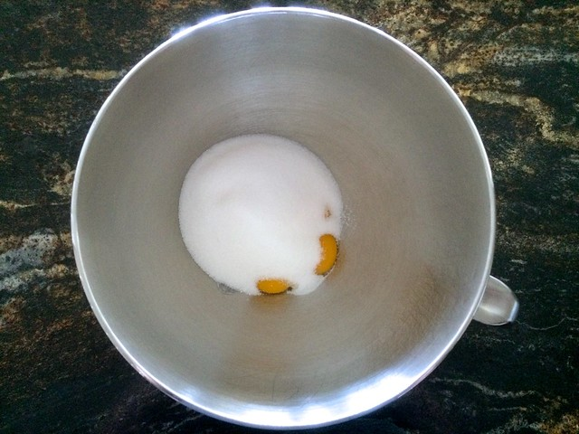 Sugar Added to Egg Yolks