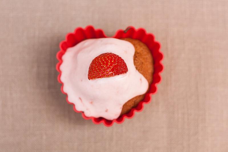"158 / 365 ""strawberry cupcake"""