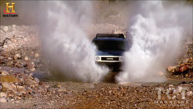 Top Gear USA on History FJ Cruiser