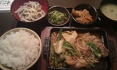 noodle, meal, lunch, steamed rice, food, dish, cuisine, chinese food, udon, nabemono,