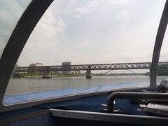 On board the hydrofoil