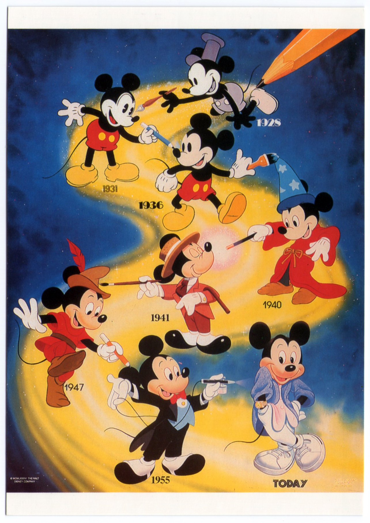 Pin by BEACHMIZER on MICKEY THROUGH THE YEARS Pinterest