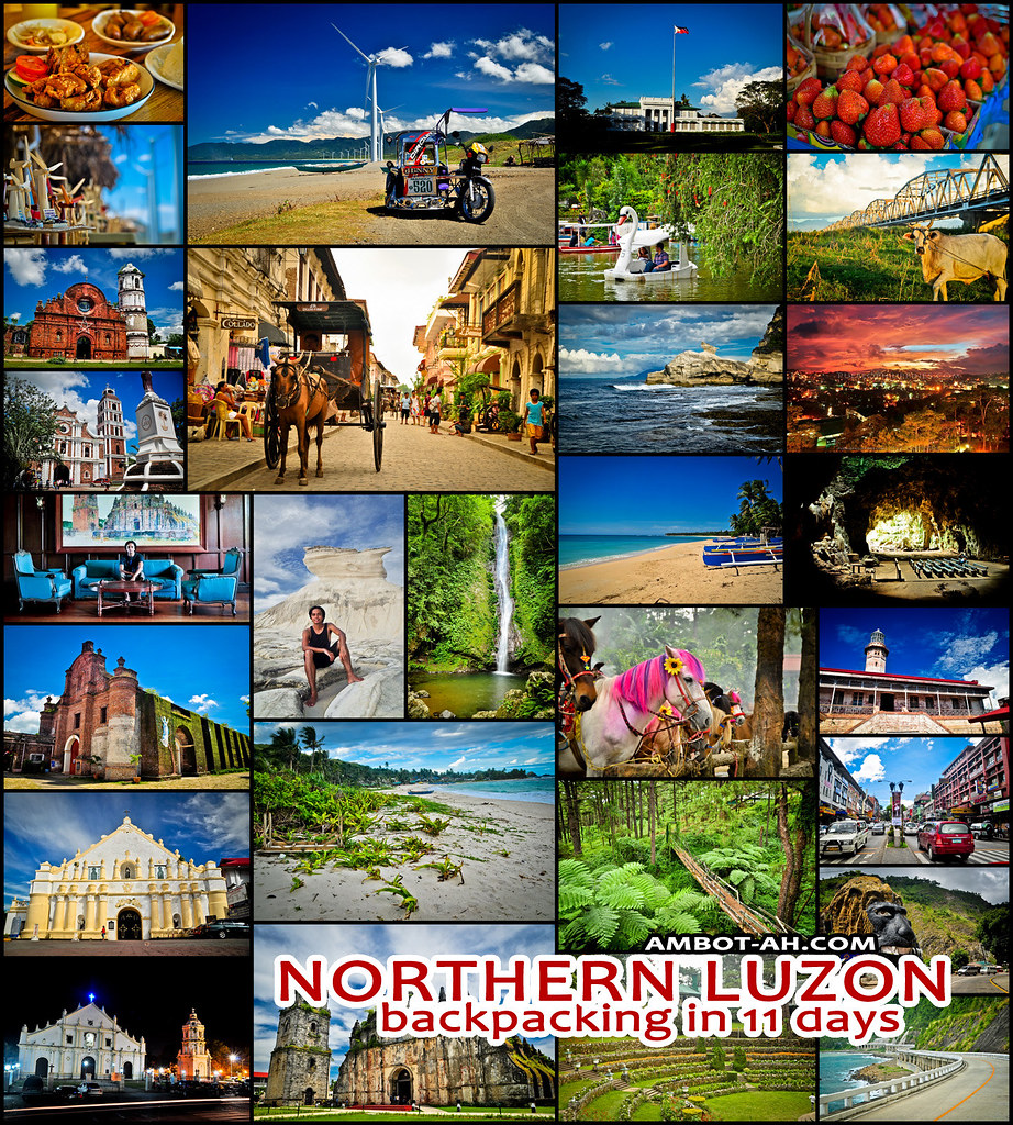 Northern Luzon Circuit Trip Around Cagayan Ilocos And Baguio For 11 Days Ambot Ah
