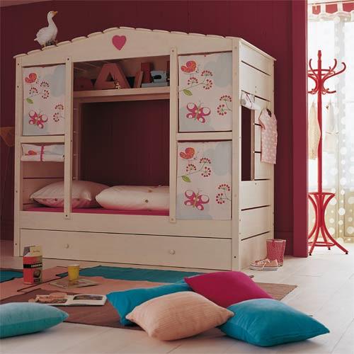 Dormitorios infantiles camas casa castillos literas liq12 - Modelos de habitaciones infantiles ...