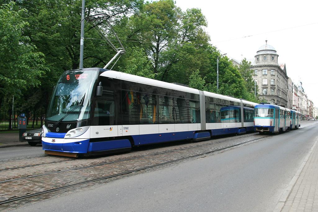 Rīgas Satiksme 57082 [Riga tram]