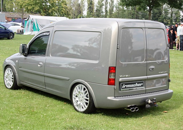 vauxhall combo 1 7 cdti van irmscher body kit flickr. Black Bedroom Furniture Sets. Home Design Ideas
