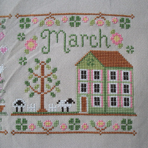 March Cottage by jenniferworthen
