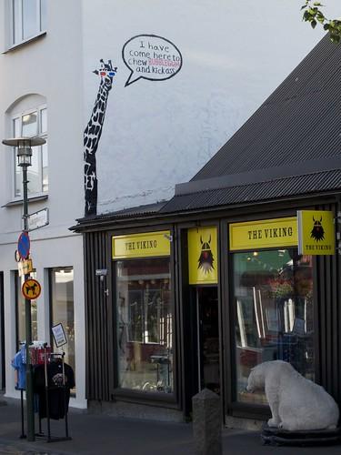 Reykjavik, Shopfront