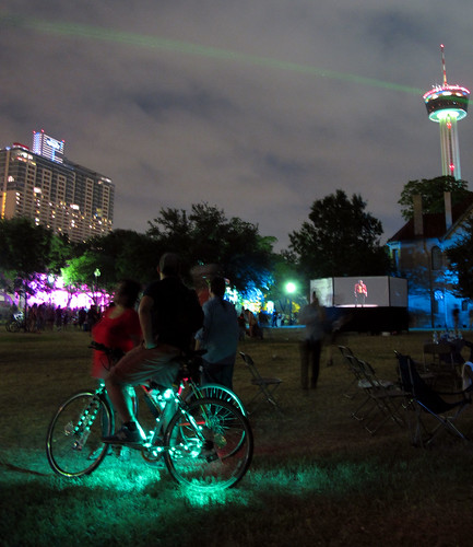 Luminaria 2012: Bicycle Art