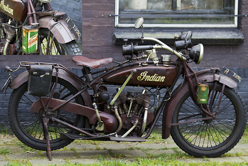Original Indian Scout Motorcycle 1920