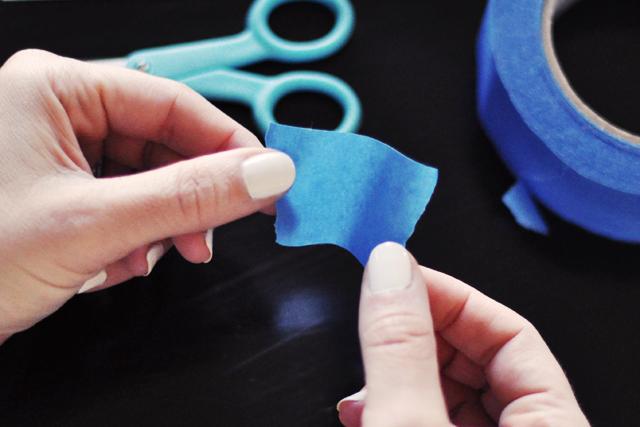 inkblot rorschach nails manicure diy