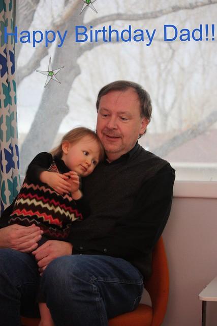Cordelia with her Grandpa