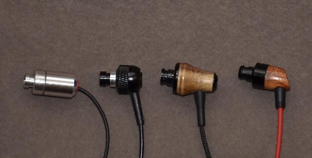 Ortofon e-Q5, HiFi Man RE-0, Xears XE200PRO, HiSoundAudio Pop
