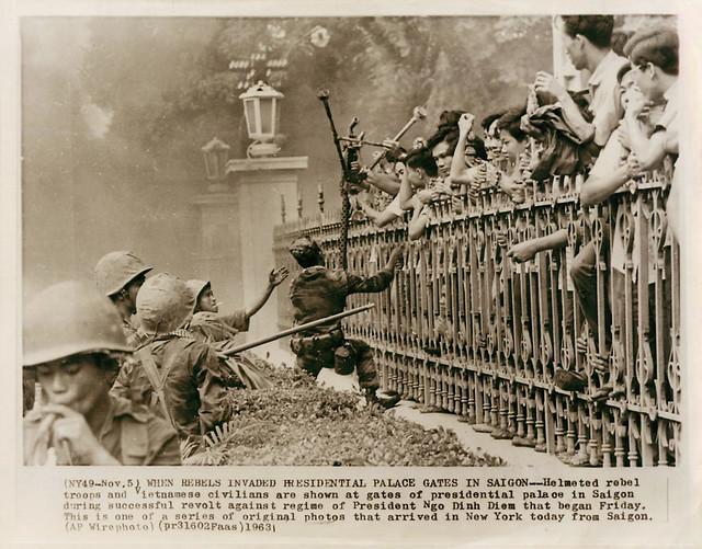 Dinh Gia Long Saigon - Đảo chánh 1/11/1963