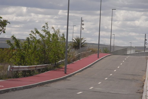 Carril Bici en Parque tecnológico Rabanales 21